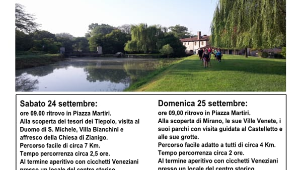 """Slow tour"": un weekend da vivere ""in lentezza"" tra sport, arte, cultura e shopping"