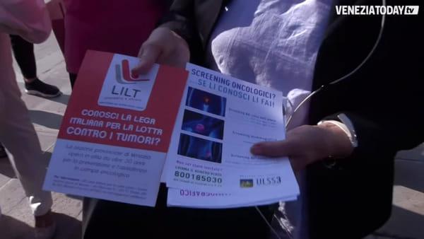 Salpato il vaporetto rosa, quattro giornate di visite senologiche gratuite | VIDEO