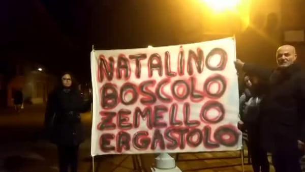 Maila, sit in al tribunale e davanti al carcere: «Ergastolo a Natalino Boscolo Zemello»
