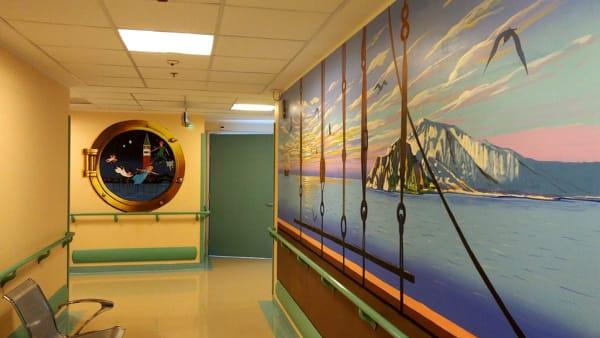 """Con Peter Pan all'ospedale Civile anche la Pediatria """"vola"""""""