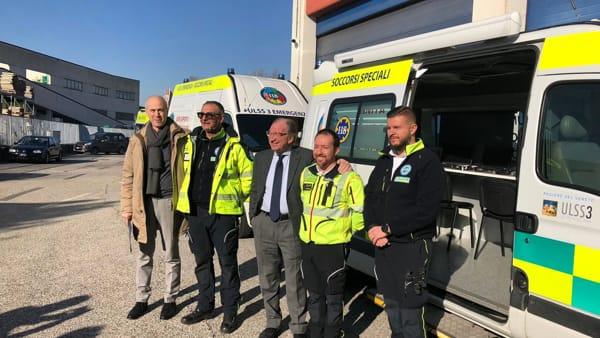 Ulss 3, le nuove ambulanze del Suem permettono interventi veloci ed efficaci | VIDEO