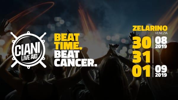 Ciani Live Aid: tutti uniti contro il cancro, tra stand, buona musica e cibo