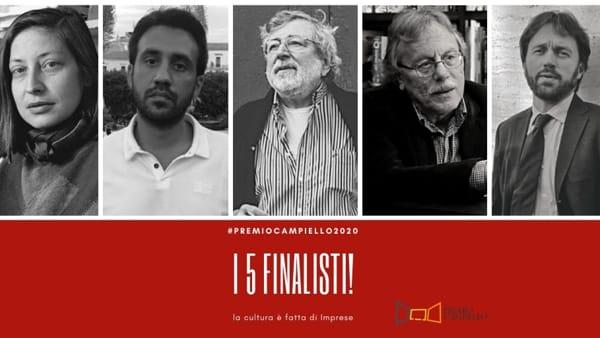 Chi sono i 5 finalisti del Premio Campiello 2020