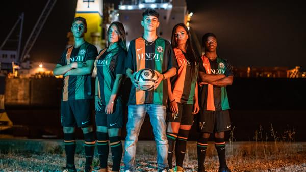 La nuova maglia del Venezia per la stagione 2019-2020