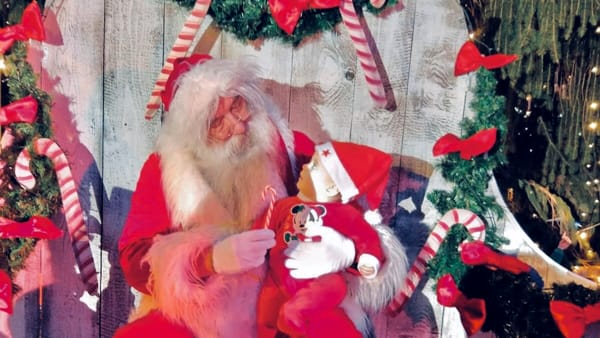 Babbo Natale arriva in centro a Noale