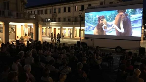 Cinemoving in via Piave, estate 2018