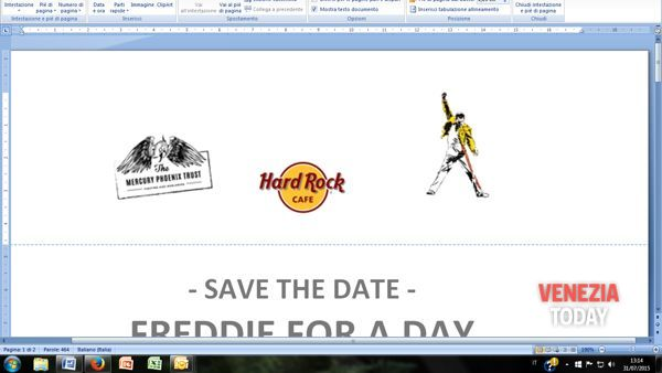"""""""Freddie For A Day"""" all'Hard Rock Cafè di Venezia"""