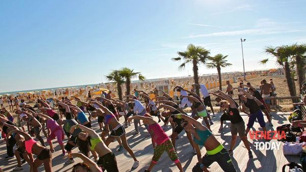 Bibione Beach Fitness 2015
