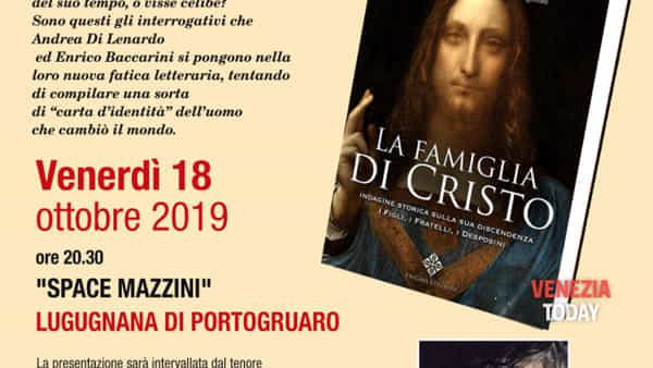 'La famiglia di Cristo': Andrea di Lenardo presenta il suo libro