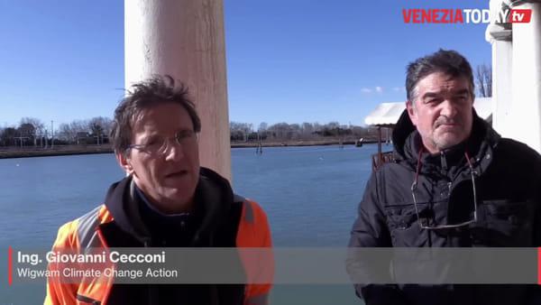 I problemi del gran traffico acqueo a San Giuliano: «Il fondale si alza, serve manutenzione» | VIDEO