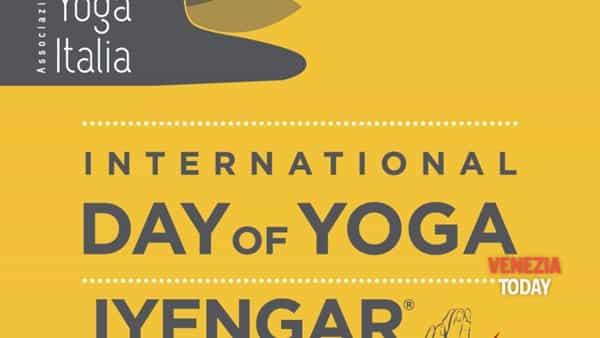 Giornata mondiale dello yoga a mestre in M9
