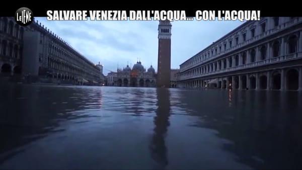 Le Iene, «acqua nel sottosuolo per innalzare Venezia di 30 centimetri»