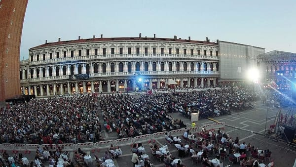 Torna la musica a San Marco: sul palco Max Gazzè, Måneskin e Francesca Michielin