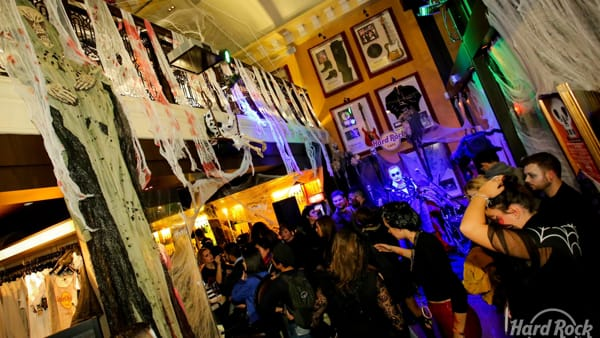 Creepykend, Halloween 2017 all'Hard Rock Cafe di Venezia per i rocker di tutte le età