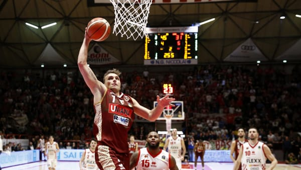 Un momento del match (foto: reyer.it)