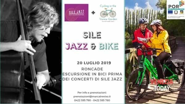 Sile jazz & bike: da Roncade alla laguna di Venezia