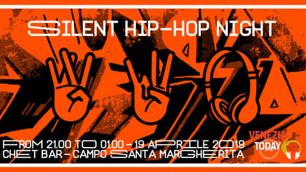 Silent hip hop night at Chet bar in campo Santa Margherita
