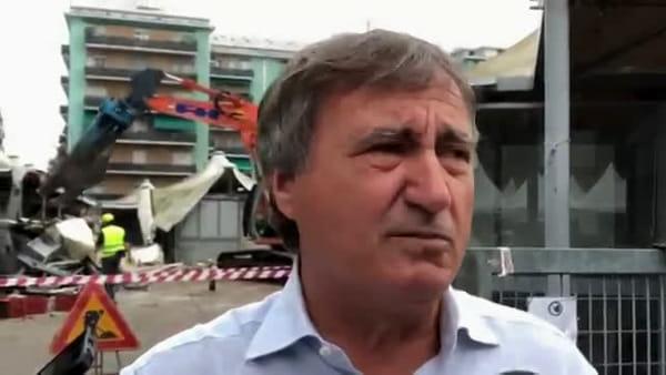 Mercato di via Fapanni, via alla demolizione delle vecchie strutture | VIDEO