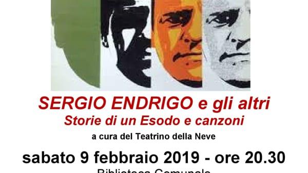Giorno del ricordo: a Musile evento su Sergio Endrigo