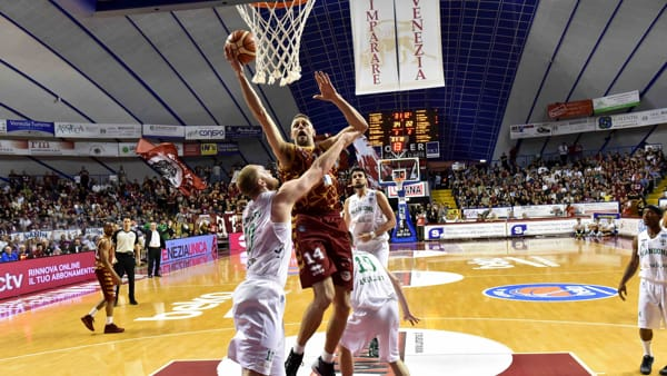 La Reyer chiude la regular season quinta in classifica, ora i quarti contro Cremona