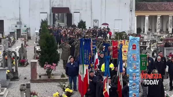 A Portogruaro il 101esimo anniversario della festa dell'unità nazionale e delle forze armate
