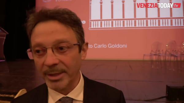 Il rettore Bugliesi si congeda durante l'inaugurazione dell'anno accademico | VIDEO