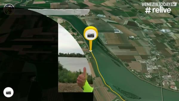 117 km in 8 ore: la prima tappa di Manuel Giuge, che raggiungerà Roma in carrozzina | VIDEO