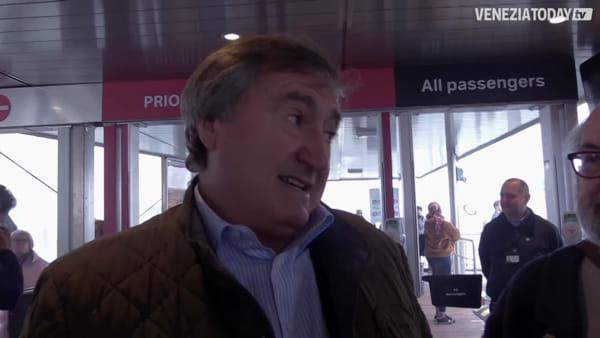 Riaperti oggi gli approdi D e E di piazzale Roma dopo un anno di lavori | VIDEO