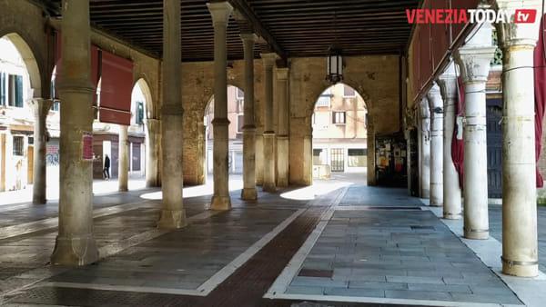Venezia, vuota e silenziosa | VIDEO