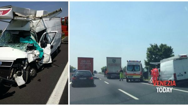 Tragico incidente in autostrada A4: muore una donna, lunghe code