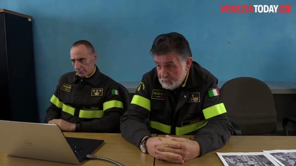 Il comandante dei vigili del fuoco Di Iorio: «Qui a Venezia ho trovato il miglior personale d'Italia»