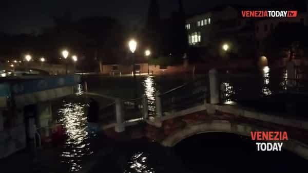 VIDEO | L'acqua alta eccezionale di martedì 12 novembre a Venezia