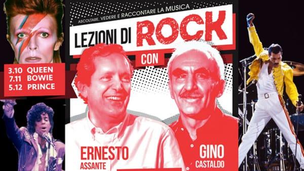 Lezioni di Rock al Candiani: Assante e Castaldo raccontano i Queen, Prince e Bowie