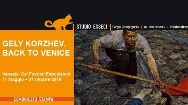 """La mostra """"Korzhev. Back to Venice"""" a Ca' Foscari Esposizioni"""