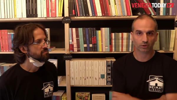 Inaugurata Heimat, la libreria attenta alle dinamiche sociali di Marghera | VIDEO