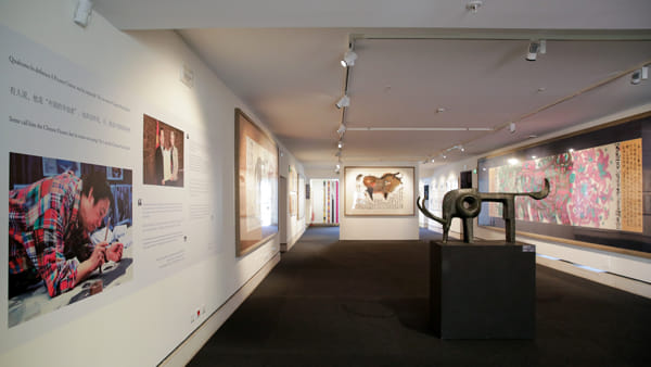 """""""Il mondo di Han Meilin"""", l'artista per la pace Unesco 2015 in mostra a Ca' Foscari"""