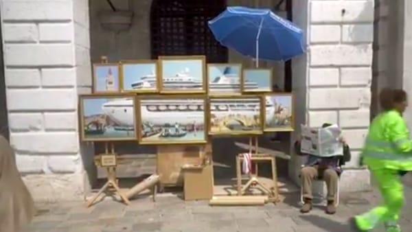 Banksy è stato a Venezia: il video pubblicato su Instagram