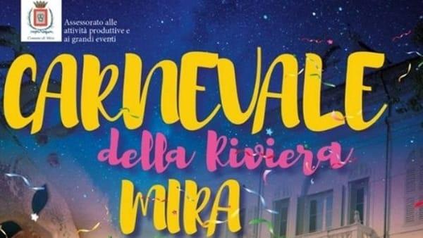 Carnevale in Riviera: la sfilata dei carri in notturna a Mira