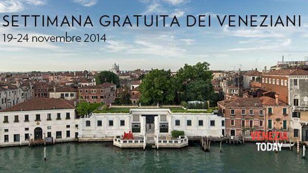 Settimana gratuita dei veneziani - Peggy Guggenheim