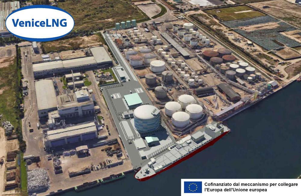Gas naturale liquido (Gnl), c'è l'autorizzazione per costruire e avviare il deposito