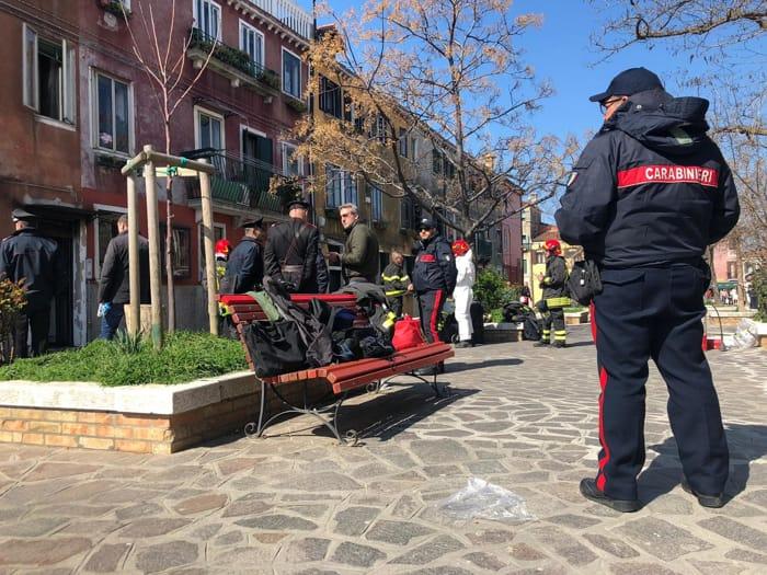 L'incendio a Murano